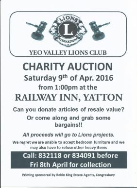 Auction April 2016