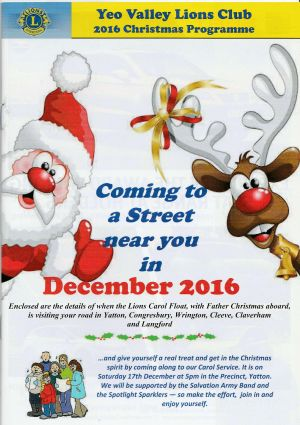 YVLC Christmas Booklet 2016